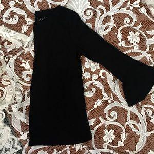 •LOFT• long sleeve, flare cuff top